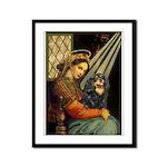 Madonna & Cavalier (BT) Framed Panel Print