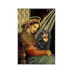 Madonna & Cavalier (BT) Rectangle Magnet