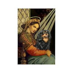 Madonna & Cavalier (BT) Rectangle Magnet (10 pack)