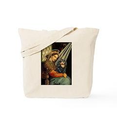 Madonna & Cavalier (BT) Tote Bag