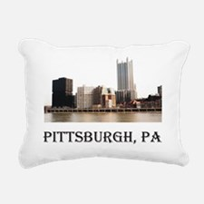 Pittsburgh, PA Rectangular Canvas Pillow