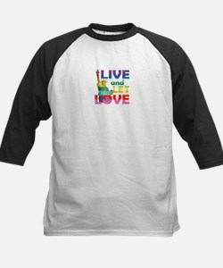 Live Let Love Statue of Liberty Baseball Jersey