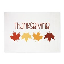 Thanks Giving 5'x7'Area Rug