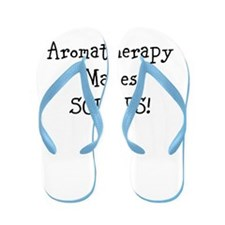 Aromatherapy Makes Scents! Flip Flops