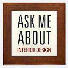 Ask Me Interior Design Framed Tile