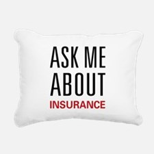 askinsurance.png Rectangular Canvas Pillow