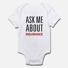Ask Me Insurance Infant Bodysuit