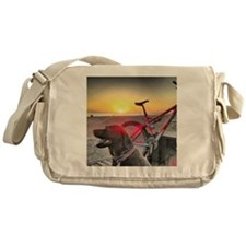 a man's best friend Messenger Bag