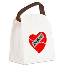Needs Mending! Canvas Lunch Bag