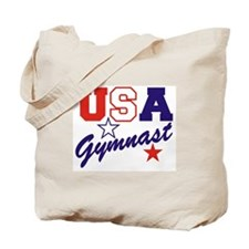 Cute Gymnast Tote Bag