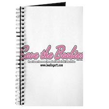 Pink Script - Tattoo Artists Save the Boobies Jour