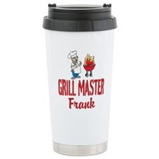 Personalized BBQ Travel Mug