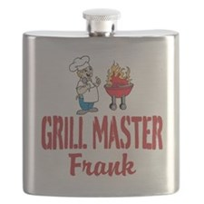 Personalized BBQ Flask