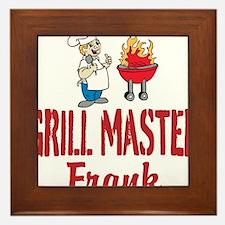 Personalized BBQ Framed Tile