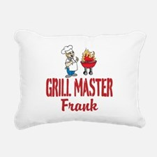 Personalized BBQ Rectangular Canvas Pillow