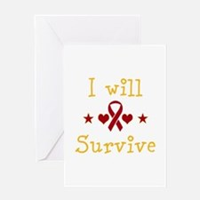 I Will Survive Heart Failure... Greeting Card