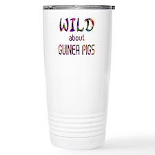Wild About Guinea Pigs Travel Coffee Mug
