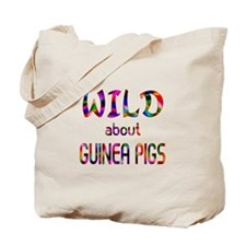 Wild About Guinea Pigs Tote Bag