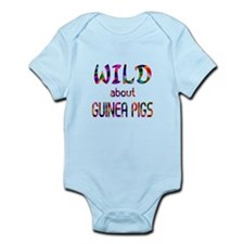 Wild About Guinea Pigs Infant Bodysuit