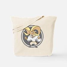Angry Ram Tote Bag