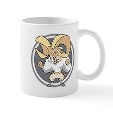 Angry Ram Small Mug