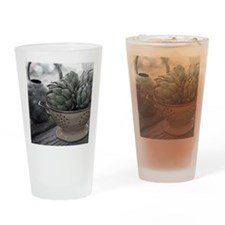 ARTICHOKES Drinking Glass
