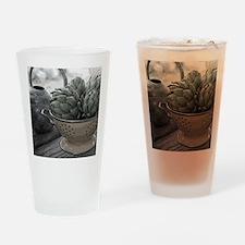 ARTICHOKES Drinking Glass