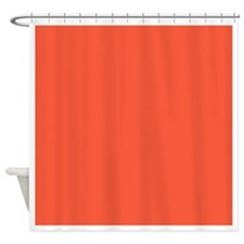 Persimmon f75a3b 26x22 Shower Curtain