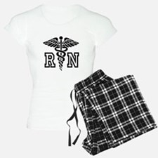 RN Nurse Caduceus Pajamas