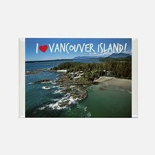 I Love Vancouver Island Rectangle Magnet