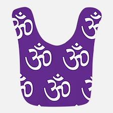 Om, Ohm, Yoga, PRUPLE Bib