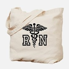RN Nurse Caduceus Tote Bag