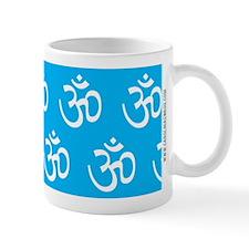 Om, Ohm, Yoga, TEAL Mug