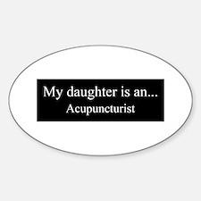 Daughter Acupuncturist Decal
