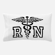RN Nurse Caduceus Pillow Case