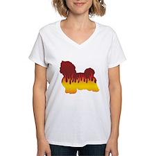 Havanese Flames Shirt