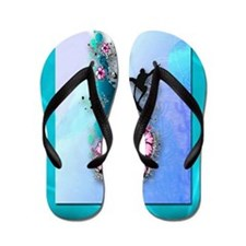 Tribal Surfer Flip Flops