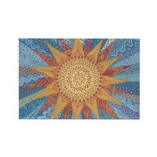 Cute Quilting Rectangle Magnet (100 pack)