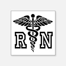 RN Nurse Caduceus Sticker