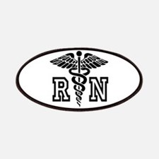 Rn Nurse Caduceus Patches