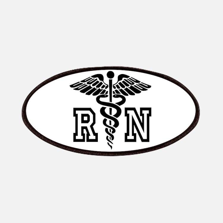 Rn Nurse Caduceus Patches
