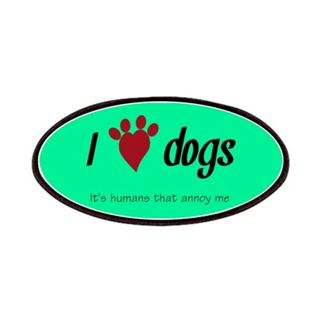 I Heart Dogs Patches