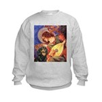 Angel (3) & Cavalier (BT) Kids Sweatshirt