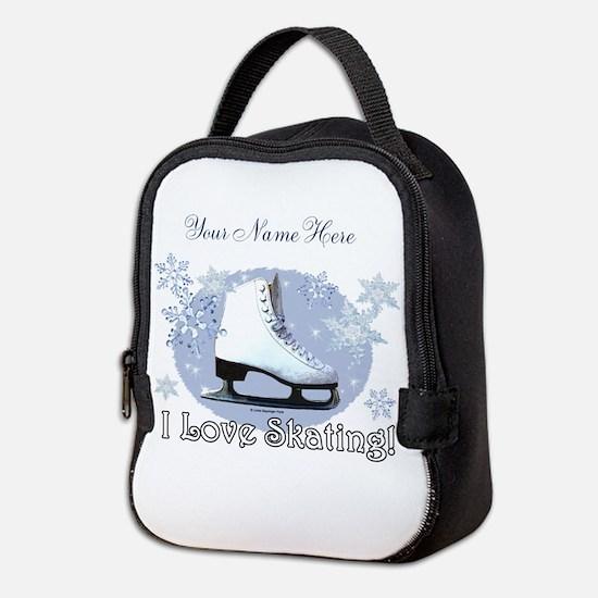 I Love Skating! Neoprene Lunch Bag