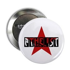 """Atheist Star 2.25"""" Button"""