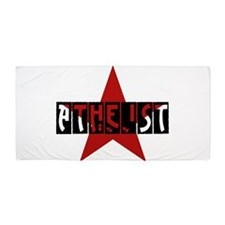Atheist Star Beach Towel