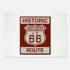 Afton Route 66 5'x7'Area Rug