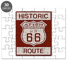 Afton Route 66 Puzzle
