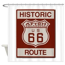 Afton Route 66 Shower Curtain
