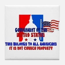 Not Church Property Tile Coaster